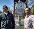 Joe Gentile (left) and Fabian Brown (right) are putting on the first music and beer festival in Haddon Heights Saturday. Credit: Matt Skoufalos.