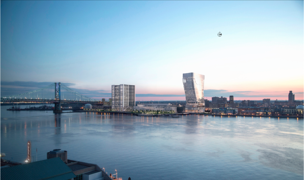 Visualizations for the Liberty Property Trust Camden waterfront project. Credit: Liberty Property Trust.