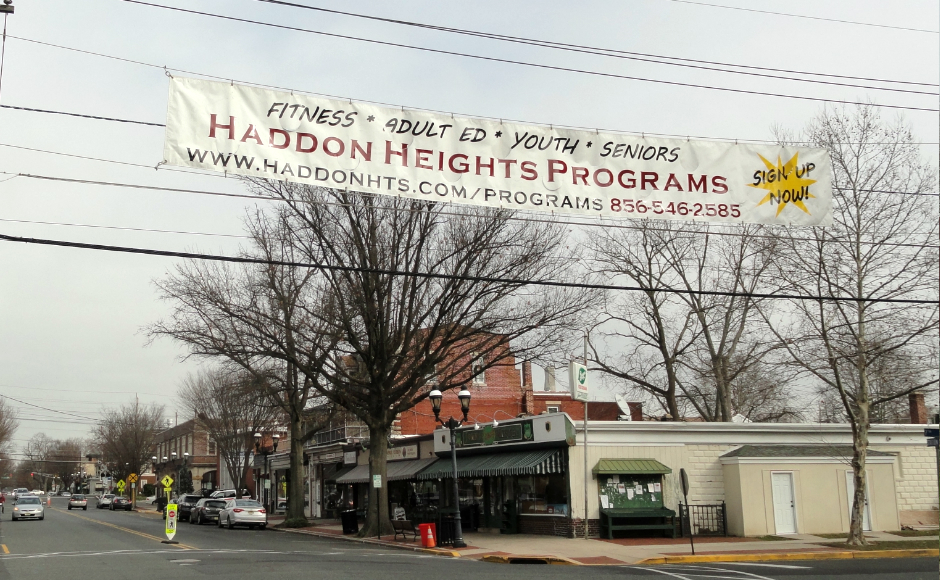 Haddon Heights offers a variety of community programs for residents. Credit: Matt Skoufalos.