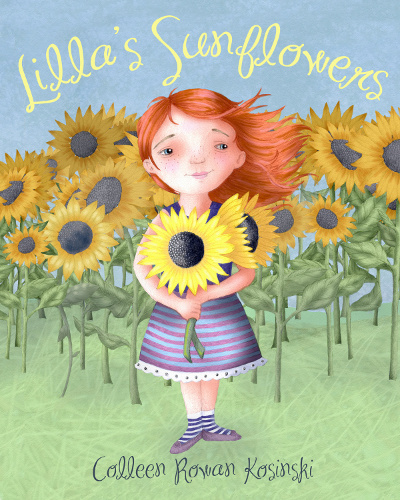 Lilla's Sunflowers Book Launch Party for Collingswood native author/illustrator, Colleen Rowan Kosinski