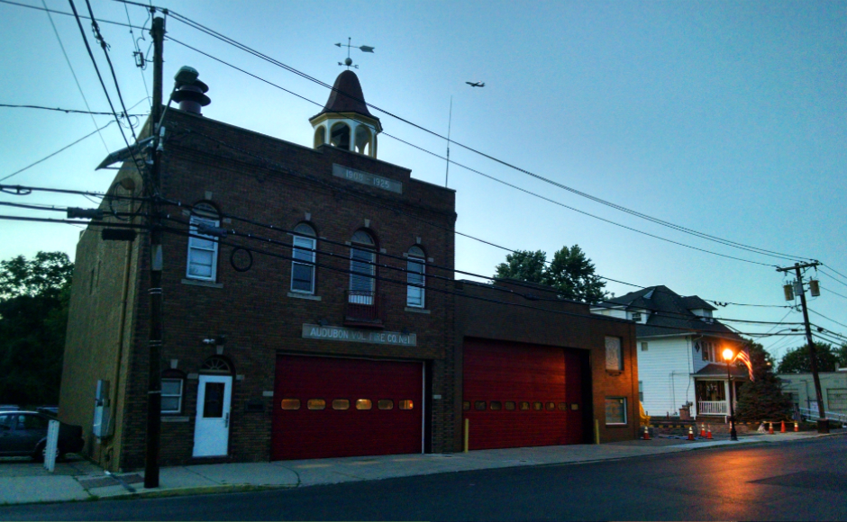 Audubon Fire Station. Credit: Matt Skoufalos.