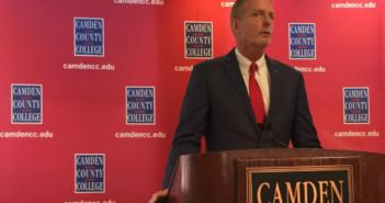 Camden County College President Donald Borden. Credit: Abby Schreiber.