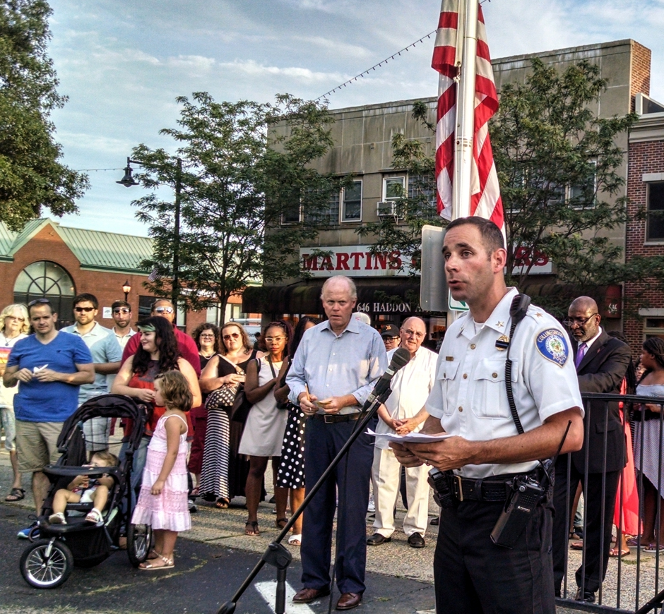 Collingswood Police Chief Kevin Carey. Credit: Matt Skoufalos.