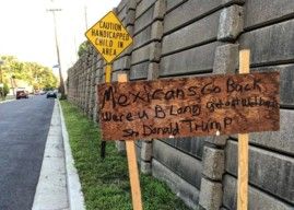 Anonymous Sign Targets 'Mexicans,' Invokes Trump in Haddon Twp.