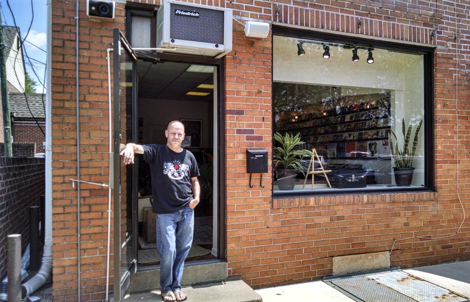 The Ropeadope store in Haddon Heights. Credit: Matt Skoufalos.