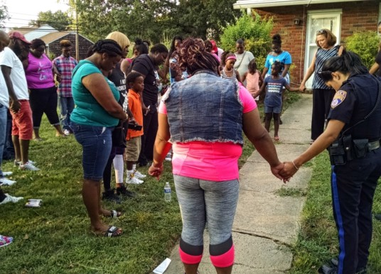 Family, Friends Mourn 2-Year-Old Jamil Baskerville, Jr. in Neighborhood Vigil