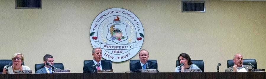 Cherry Hill Township Council. Credit: Matt Skoufalos.