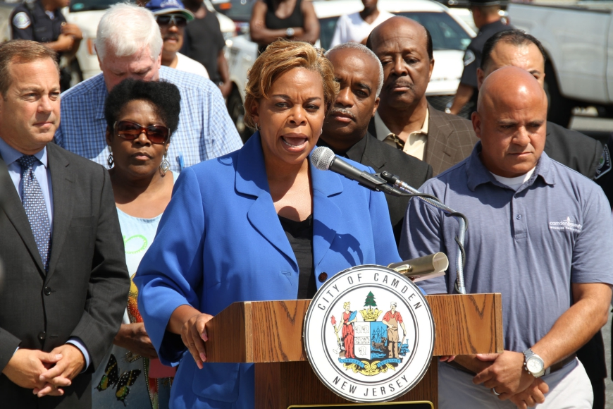 Camden City Mayor Dana Redd. Credit: Rob Smith.