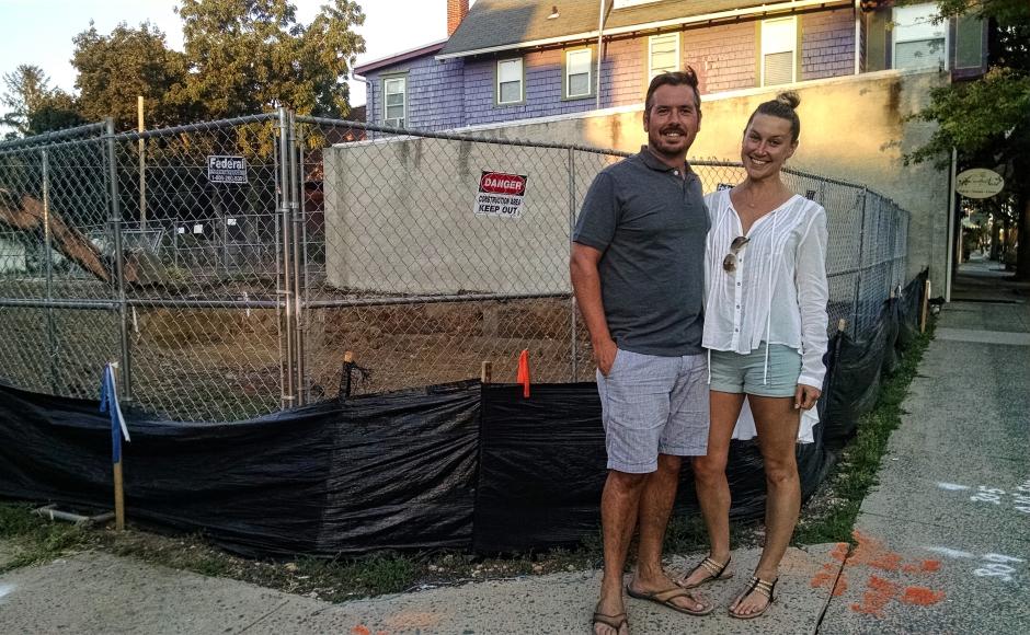 Dominic and Lindsay Piperno. Credit: Matt Skoufalos.