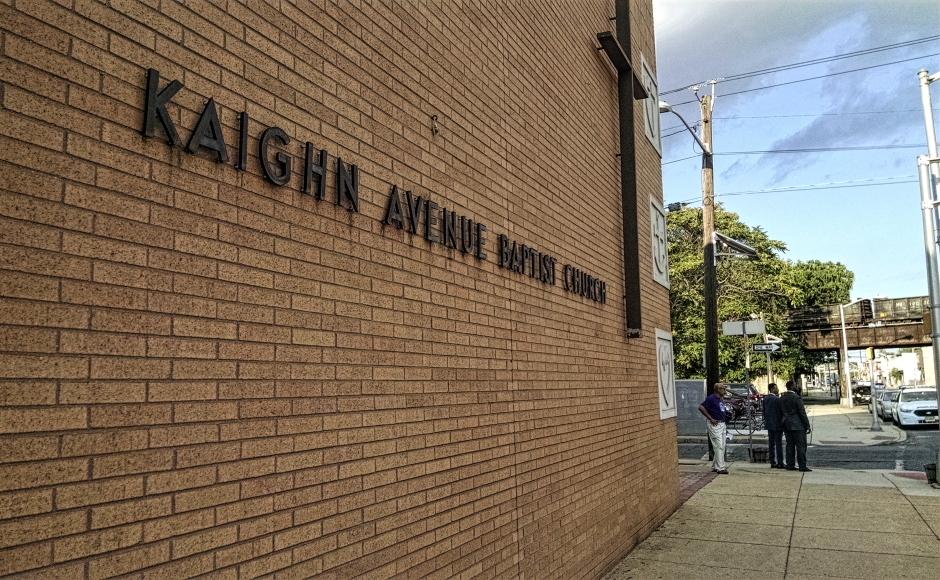 Kaighn Avenue Baptist Church, Camden. Credit: Matt Skoufalos.
