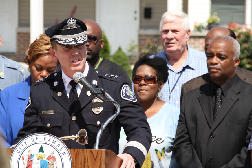 Camden County Police Chief J. Scott Thomson. Credit: Rob Smith.