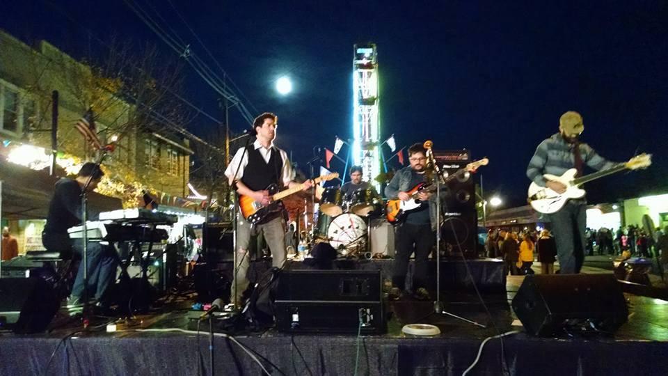 Johnny Miles & the Waywards. Credit: Matt Skoufalos.