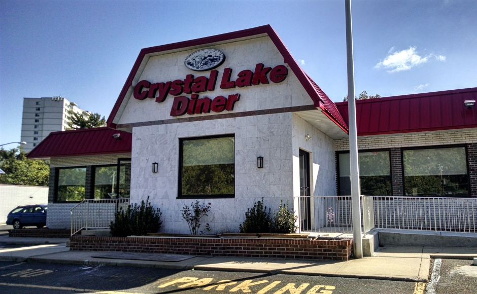 The Crystal Lake Diner is under repairs. Credit: Matt Skoufalos.
