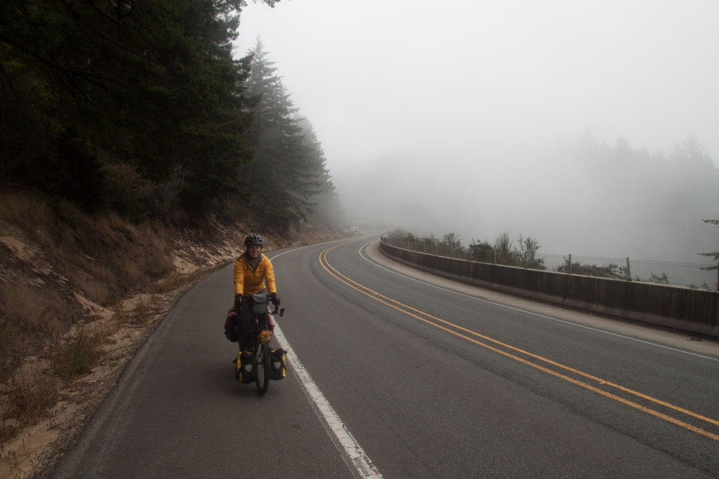 Cycling on the coast of Oregon. Credit: Chris Campbell.