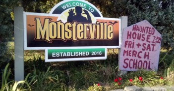 For two weeks this month, Merchantville becomes Monsterville. Credit: Matt Skoufalos.