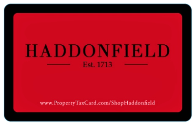 The Shop Haddonfield rewards program gives residents a break on their property taxes. Credit: Partnership for Haddonfield.