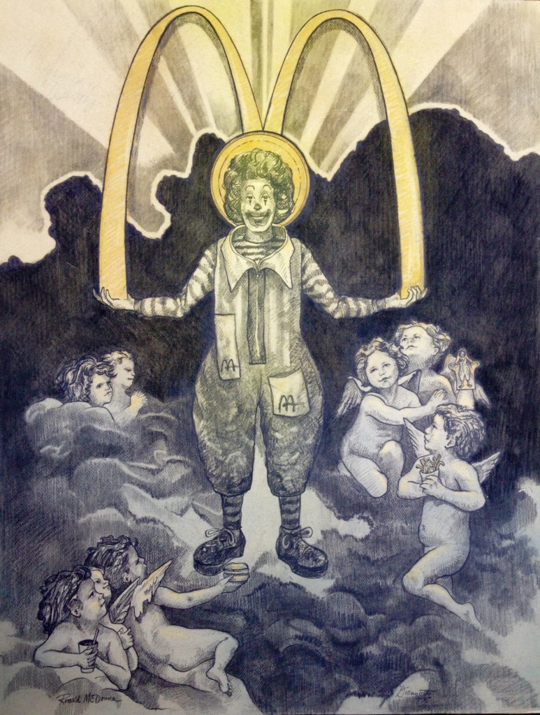 """Ronald McDonna"" by John Giannotti. Credit: John Giannotti."