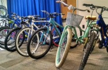 CCPD recovered 91 bicycles and more than 30 electronic devices from a Camden City bodega. Credit: Matt Skoufalos.