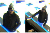 Cherry Hill police say the man pictured is wanted in a robbery by note at the Republic Bank on Route 70. Credit: Camden County Prosecutor's Office.