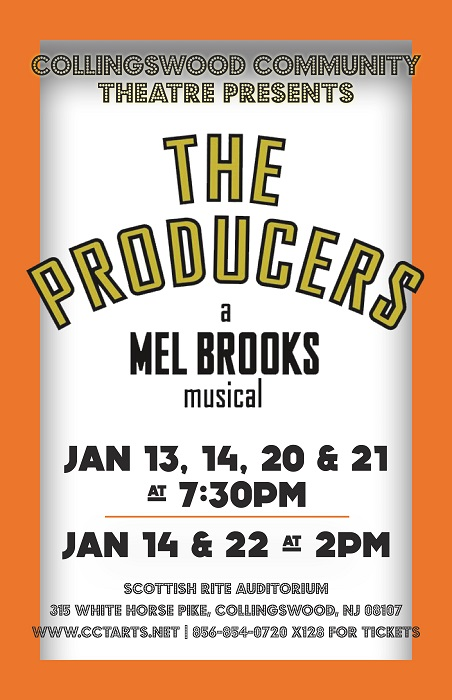 Collingswood Community Theatre presents THE PRODUCERS