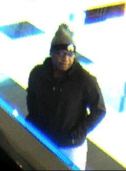 A man whom police say is wanted in the robbery of the Republic Bank in Cherry Hill. Credit: CCPO.