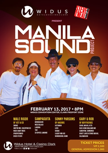 The Manila Sound Project at Widus Hotel and Casino Clark