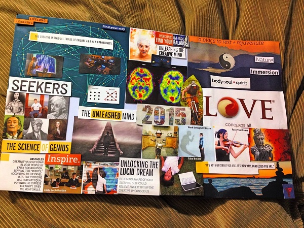 Vision Boards and Vino