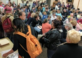 Cooper River 'Indivisible' Chapter Kicks off with Overflow Crowd in Collingswood