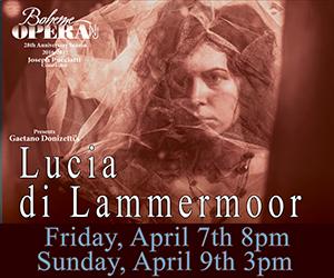 Lucia di Lammermoor Presented by Boheme Opera NJ