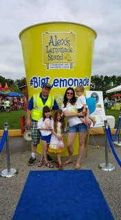 Lily's Big Grand Lemonade Stand for Alex's Lemonade Stand Foundation