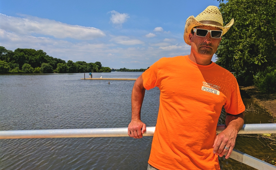 Slipping Into the Cooper River with Cowboy Mike's Canoe Rental