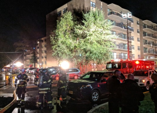 No Serious Injuries in Cherry Hill Apartment Fire