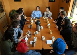 Violence, Finances, and DREAMers: Oaklyn Roundtable Talks Concerns with Congressman
