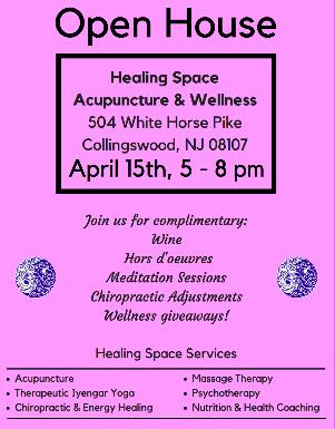 Healing Space Open House