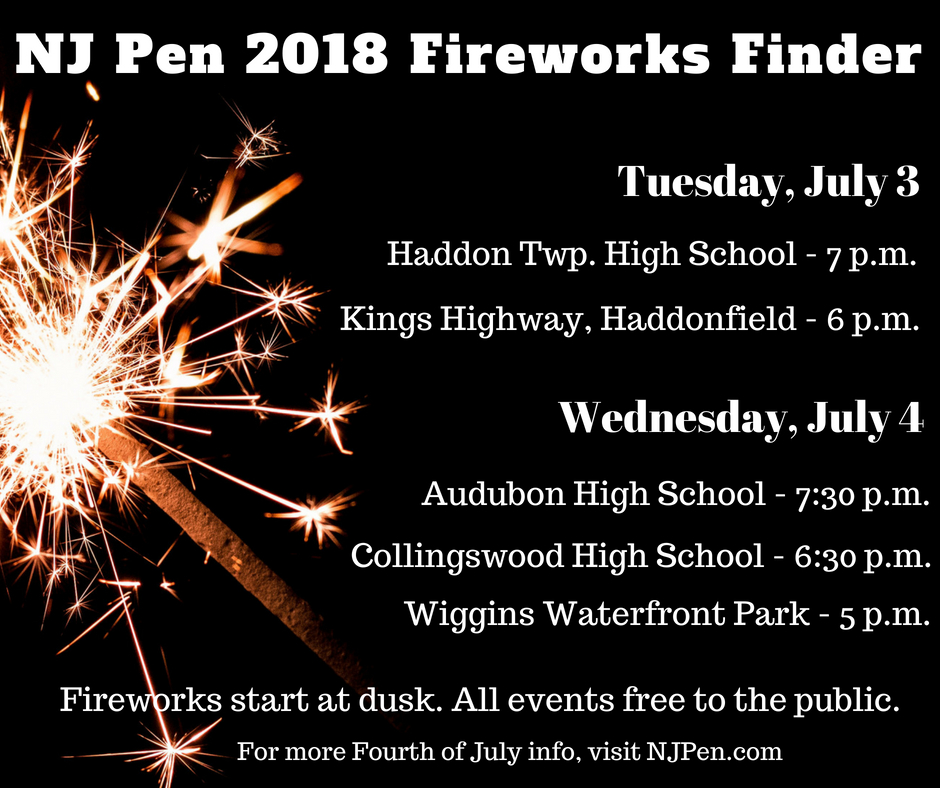 May The Fourth Be With You Waterside: NJ PEN Fourth Of July 2018: Local Celebrations, Fireworks