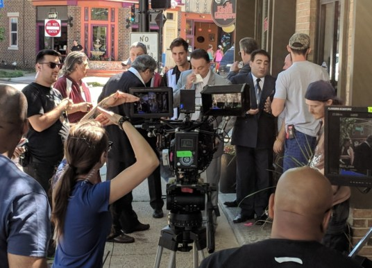 Welcome to Collywood: Wiseguy Comedy Shoots at Kitchen Consigliere