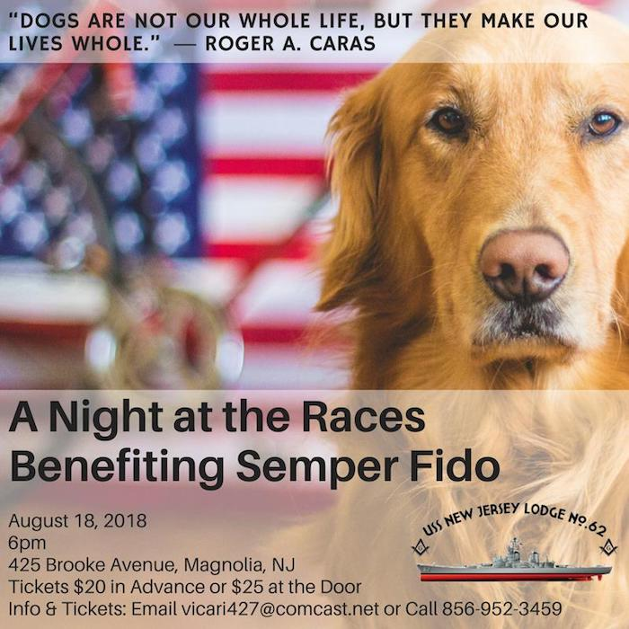 A Night at the Races, Benefiting Semper Fido
