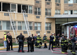 Residents Transported from Collingswood Parkview Apartments Fire