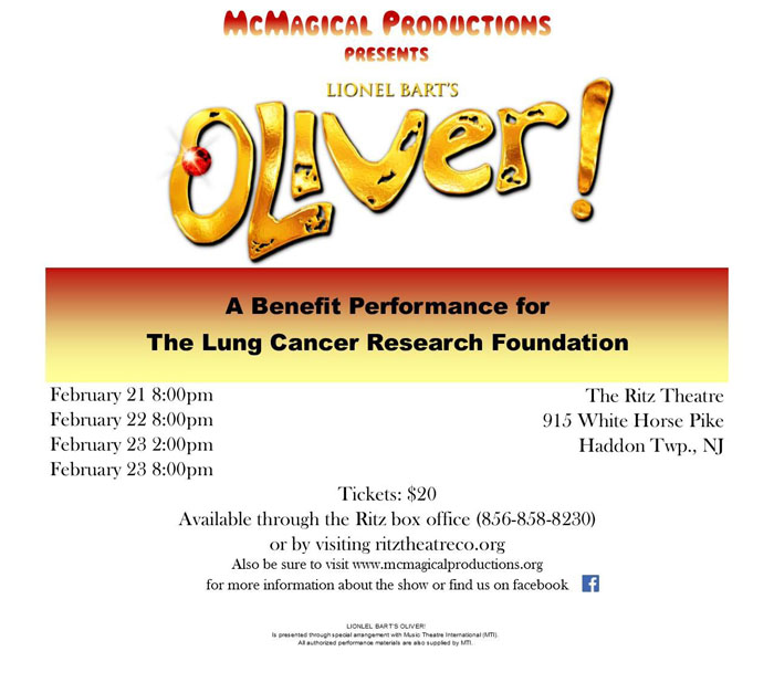McMagical Productions Presents: Oliver! The Musical