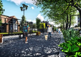 Atlantic Avenue 'Rails With Trails Project' Finds Design, Construction Money