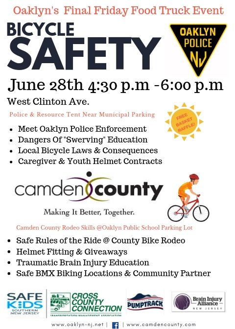 Oaklyn Final Friday Bike Event
