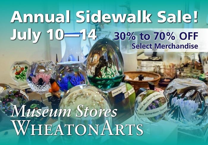 Museum Stores Annual Sidewalk Sale