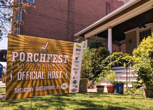 A Small Town in Short Acts: Collingswood Porchfest Set for Year Three