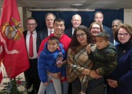 PNC Donates Collingswood Home to USMC Purple Heart Veteran and Family