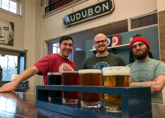 Red White & Brew Sets Dec. 14 Opening in Downtown Audubon