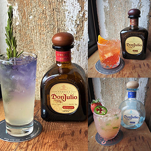 Don Julio Taste Test at Central Taco & Tequila