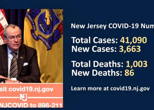 Coronavirus Update: 41,090 Cases, 1,003 Dead; Peak Possible April 19-May 11