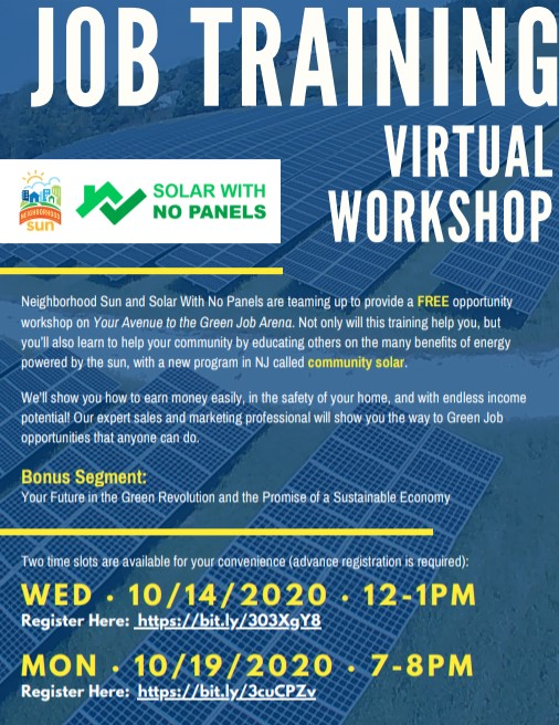 Free Job Training Virtual Workshop