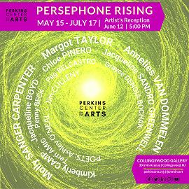 Persephone Rising Exhibition