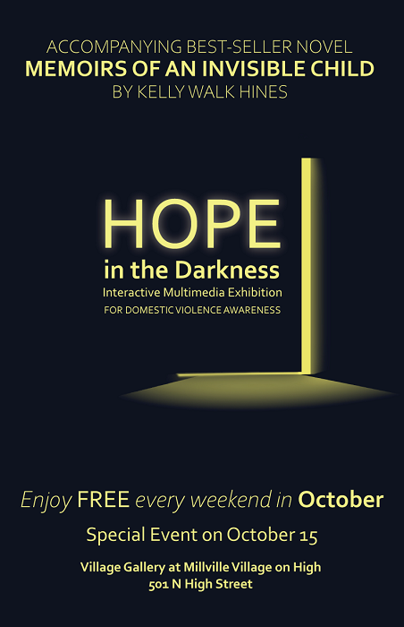 Hope in the Darkness: Domestic Violence Awareness Exhibit